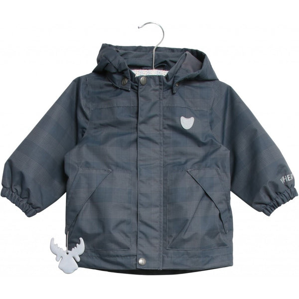 Wheat Tom Jacket (Size 7 Yr) - Navy Check