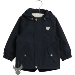 Wheat Valter Jacket (Size 6 Yr) - Navy