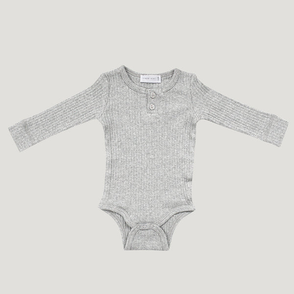 jamie kay modal bodysuit light grey flat