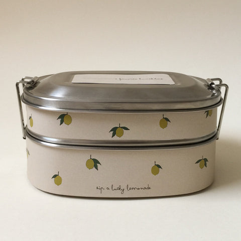Konges Slojd Lunch Box - Lemon