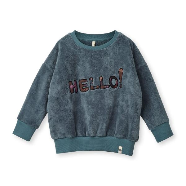 Popupshop Loose Sweat Teddy Trooper