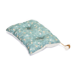 LiLu Large Pillow - Green Branches