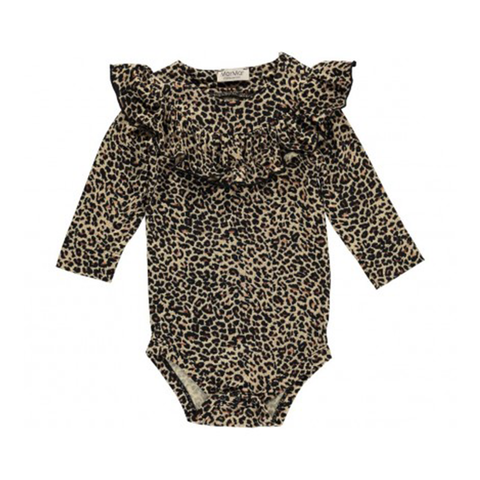 MarMar Copenhagen Bibbi Body Suit - Brown Leopard