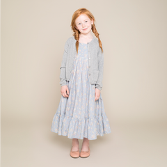 Wheat Maggie Dress - Sky