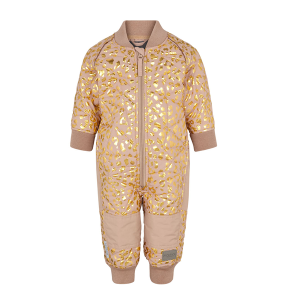 MarMar Copenhagen Thermo Suit - Dusty Powder Leopard