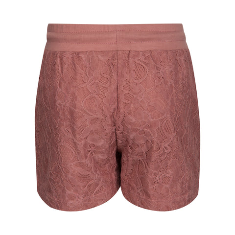 Petit by Sofie Schnoor Lace Shorts - Ash Rose