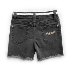 Pop Factory Panther Denim Cutoffs