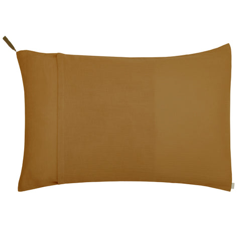 Numero 74 Standard Pillow Case - Gold