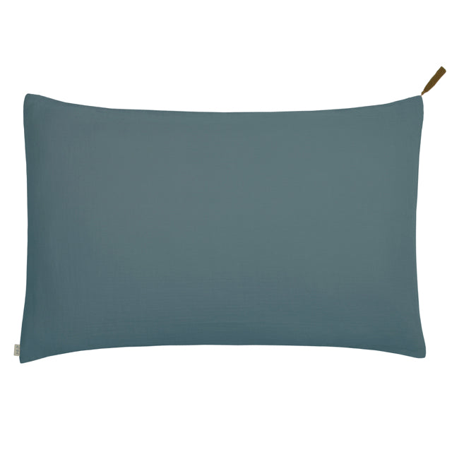 Numero 74 Standard Pillow Case - Ice Blue