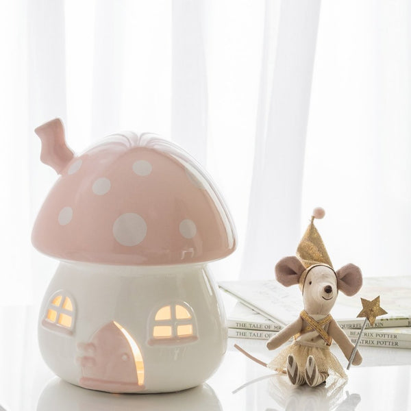 Little Belle Nightlight - Pink & White
