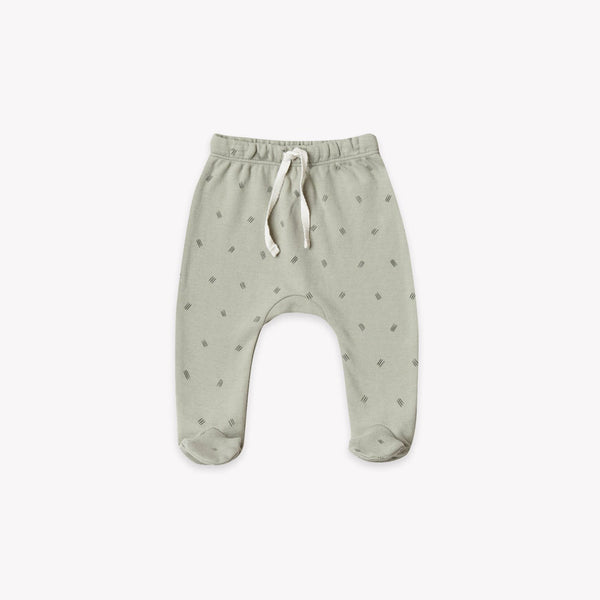 Quincy Mae Footed Pant - Sage