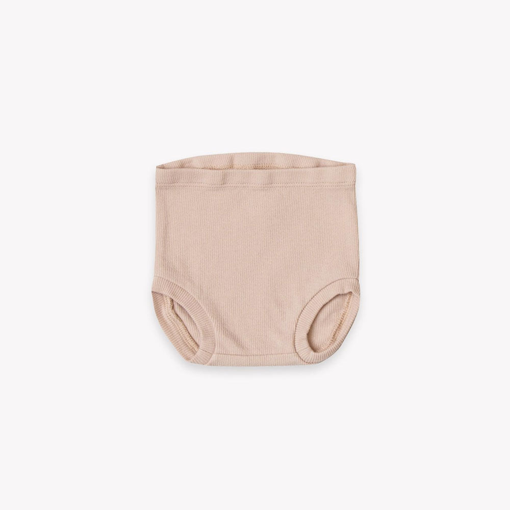 PRE ORDER | Quincy Mae Ribbed Bloomer - Rose
