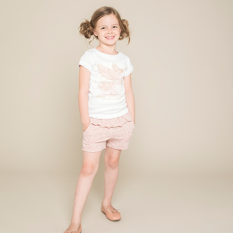 Wheat Rosalie Shorts - Baby Rose