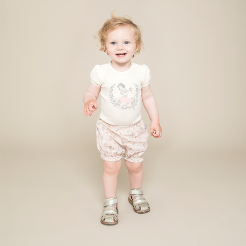 Wheat Ruffle Nappy Pants - Sky