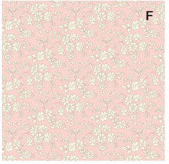 Funny Bunny Kids Liberty Clips - Rose Floral