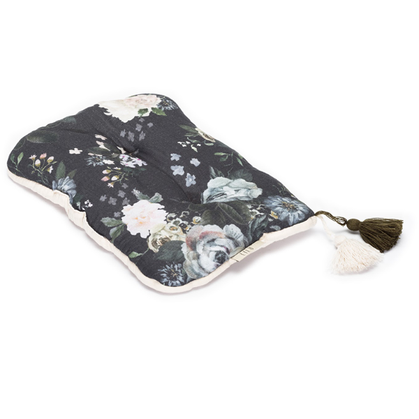 LiLu Small Pillow - Dark Peonies