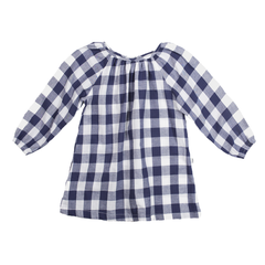Fox & Horn Smock Dress - Gingham