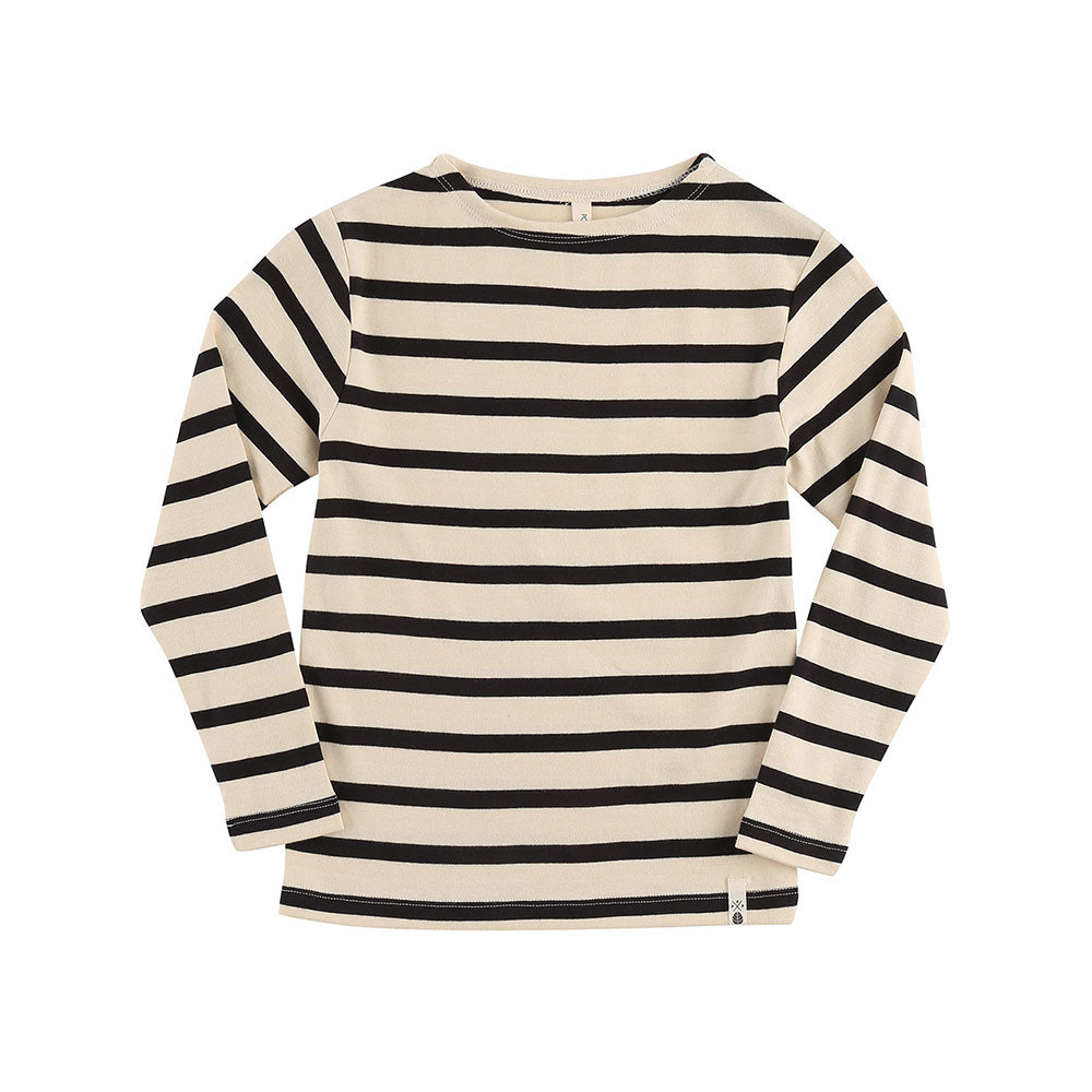Popupshop Stripe Top Long Sleeve