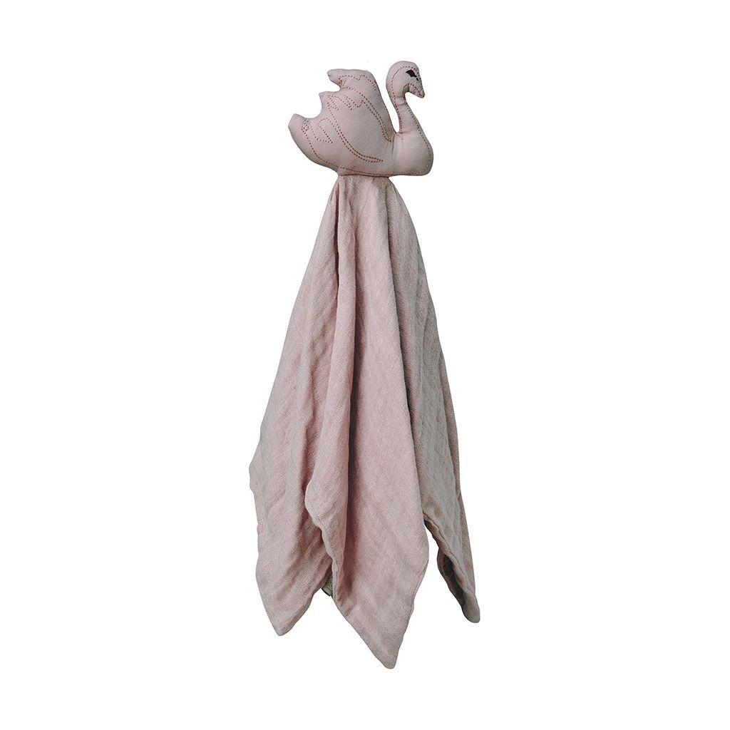 Cam Cam Copenhagen Swan Cuddle Cloth - Dusty Rose