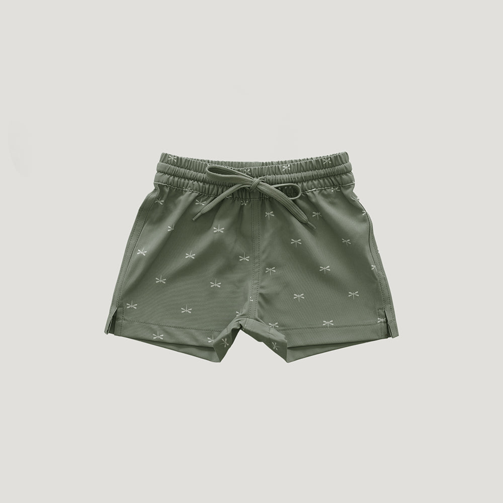 Jamie Kay Dragonfly Swim Shorts - Seagrass