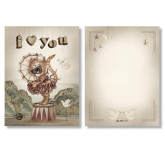 Mrs Mighetto 2 Pack Cards - Moon Love
