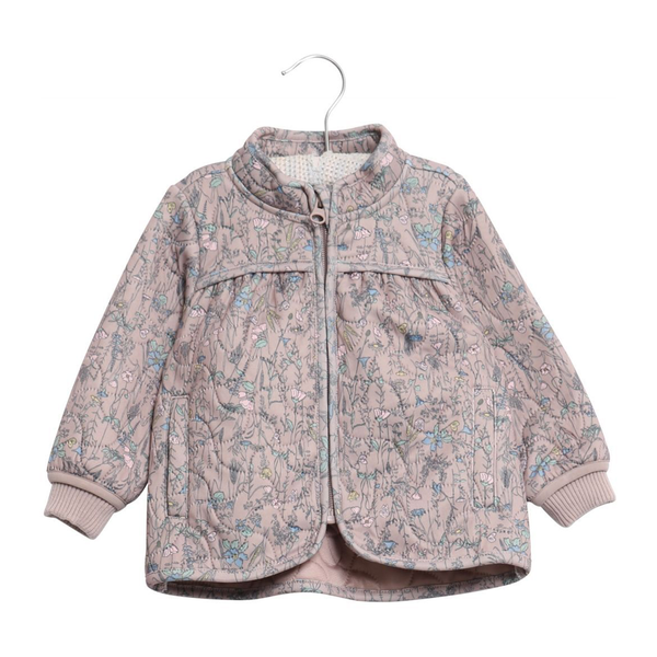 Wheat Thilde Thermo Jacket - Dark Powder Floral