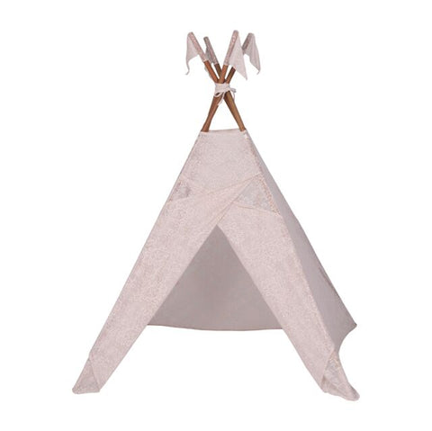 Numero 74 Lace Baroque Tipi Tent - Powder