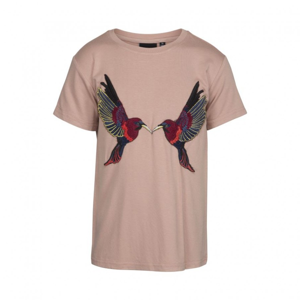 Petit by Sofie Schnoor Birds T-Shirt - Cameo Rose