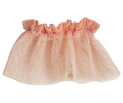 Maileg Bunny Tulle Skirt Yellow