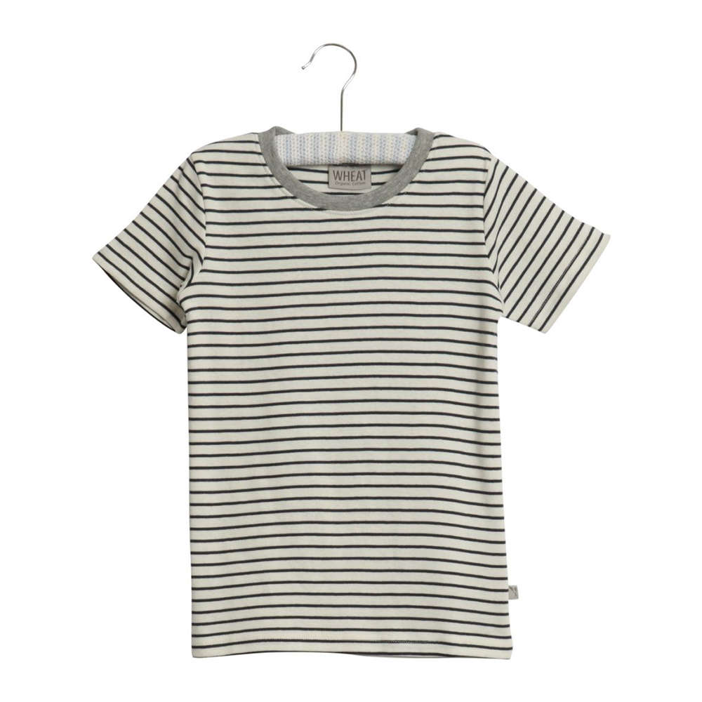 Wheat Wagner T-Shirt - Navy
