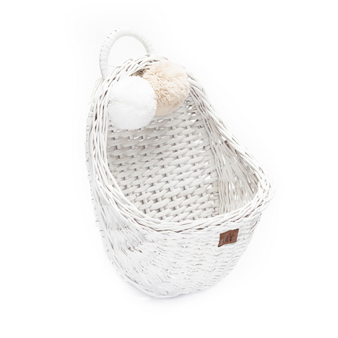 LiLu Wall Basket - White