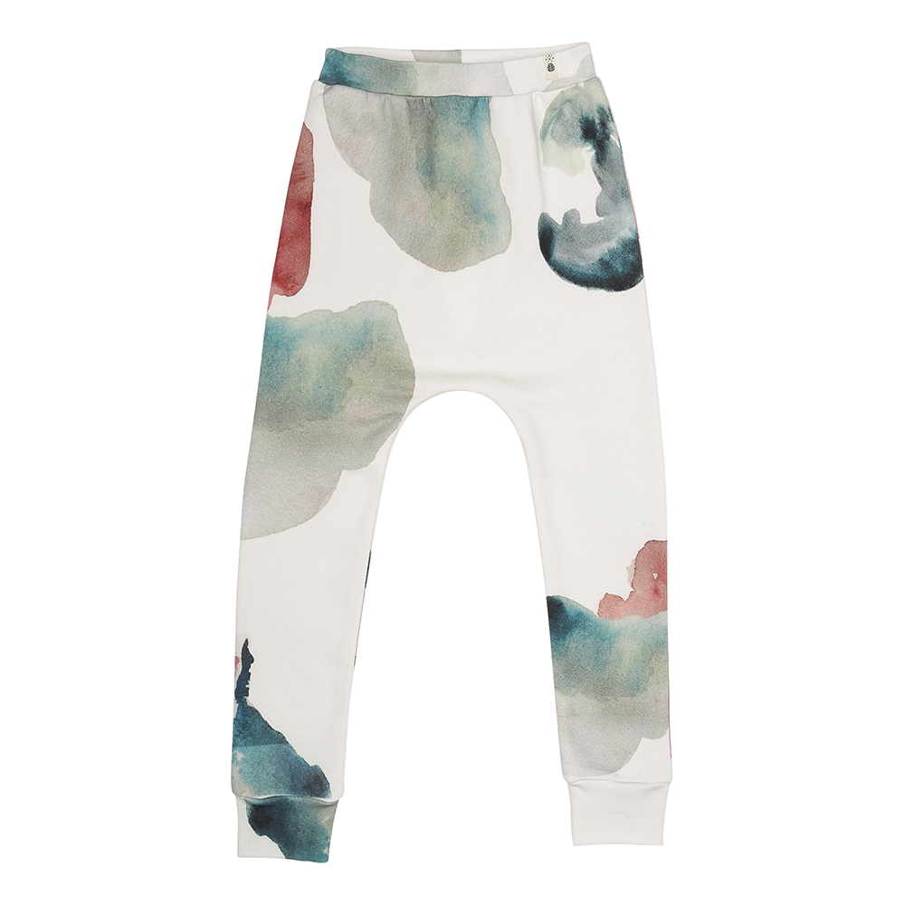 Popupshop Baggy Leggings - Water Flower
