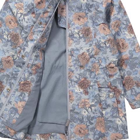 Wheat Karla Jacket (Size 7 Yr) - Pearl Blue