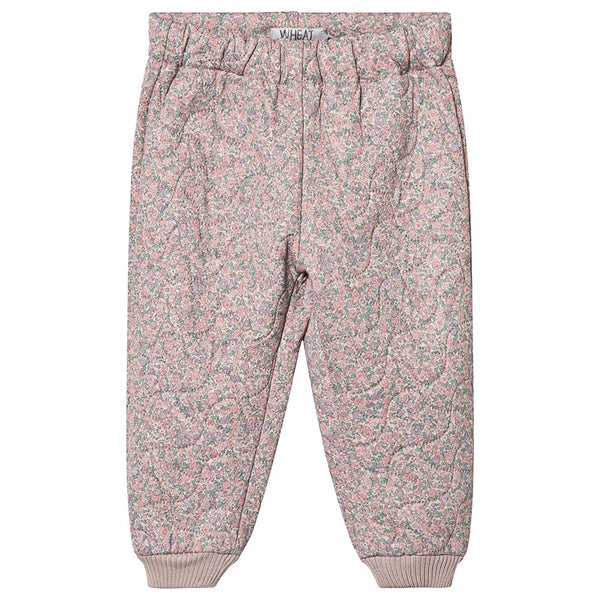 PRE-ORDER | Wheat Thermo Pants Alex (Size 3 & 4 Yr) - Flower