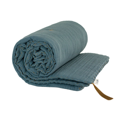 Numero 74 Winter Blanket Single - Ice Blue