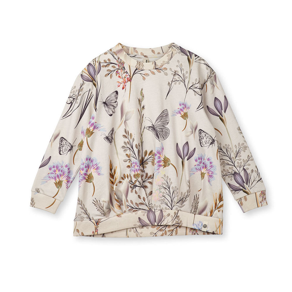 Popupshop Winter Flower Wrinkle Blouse