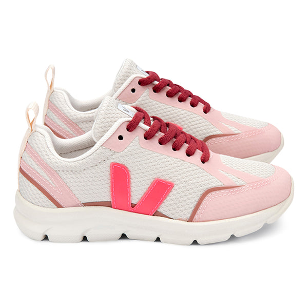 Veja Canary Vegan Mesh Trainers - Pink