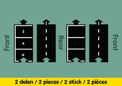 Waytoplay - Parking Extension Set 2 Pce