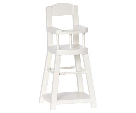 Maileg High Chair for Micro Offwhite