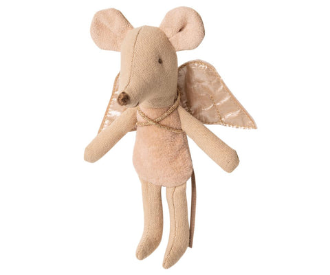 Maileg Fairy Mouse Little Sister Pink