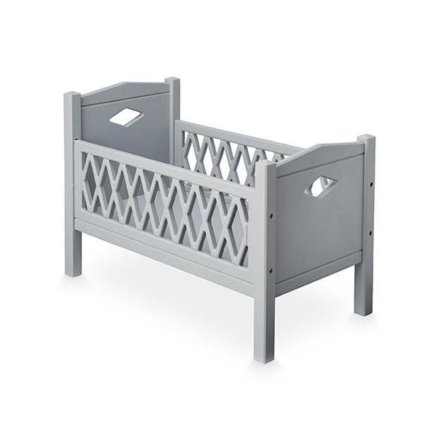 Cam Cam Copenhagen Harlequin Dolls Bed - Grey