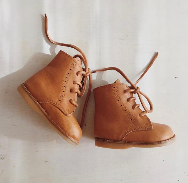 Boho Leather Co Leather Ari Boot