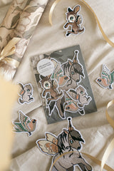 Mrs Mighetto 5 Pack Patches - Flying Friends