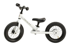 Trybike - White 2-In-1 Balance Bike & Trike