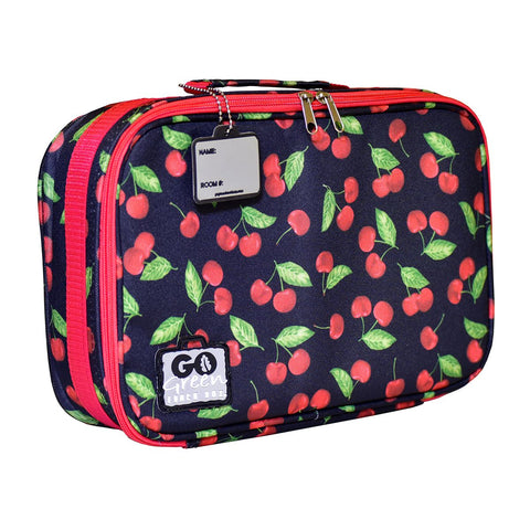 Go Green Lunchbox Complete Set - Cherries Jubilee Pink