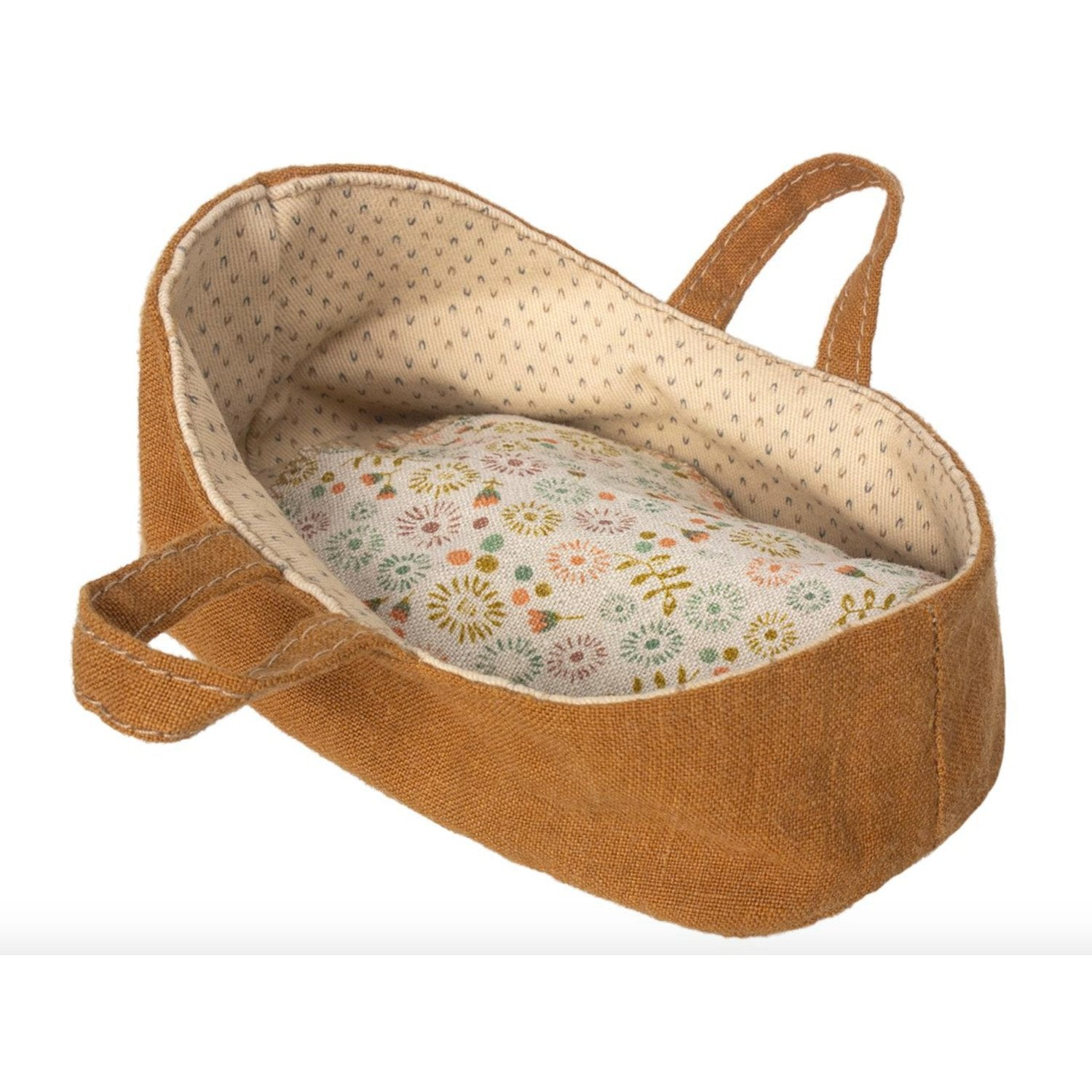 Maileg Carry Cot Gold