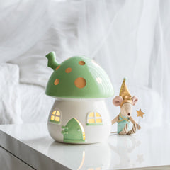 Little Belle Nightlight - Mint & Gold