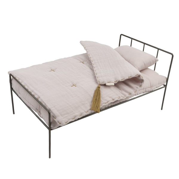 Numero 74 Doll Metal Bed & Organic Cotton Bedding
