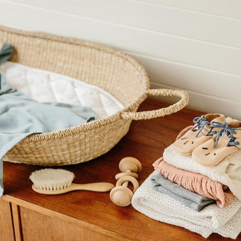 Olli Ella Changing Basket Cotton Insert