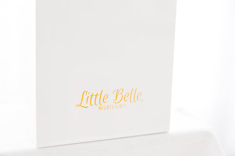 Little Belle Nightlight - Peach & Gold